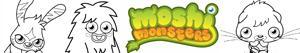 раскраски Moshi Monsters