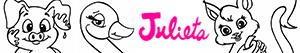 раскраски Животные Julieta